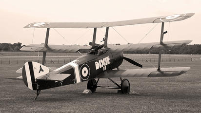 G-BOCK - The Shuttleworth Collection Sopwith Triplane