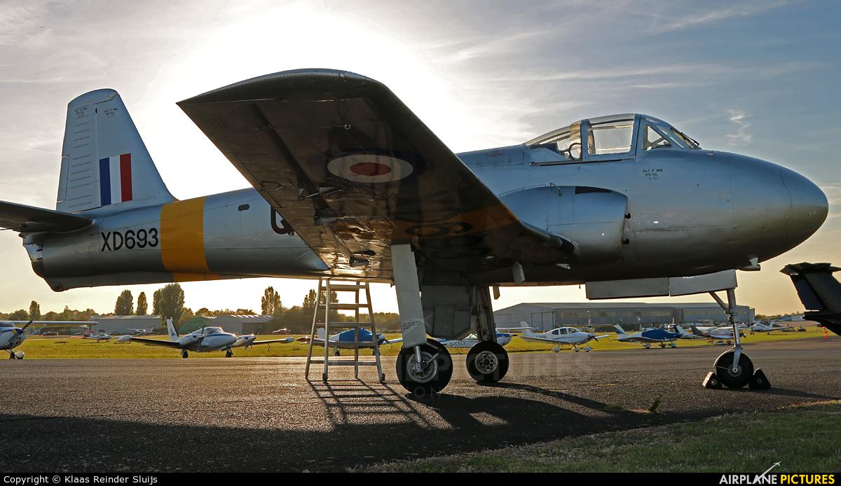 G-AOBU aircraft at North Weald