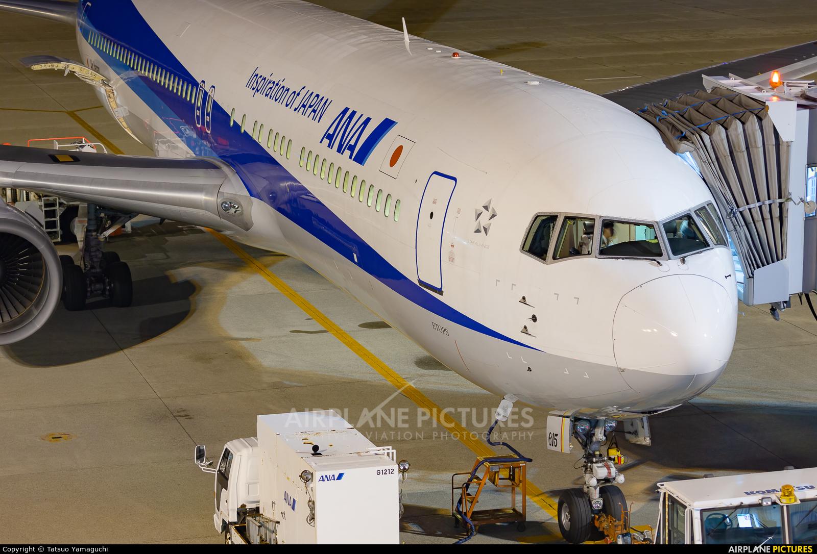 ANA - All Nippon Airways JA615A aircraft at Komatsu