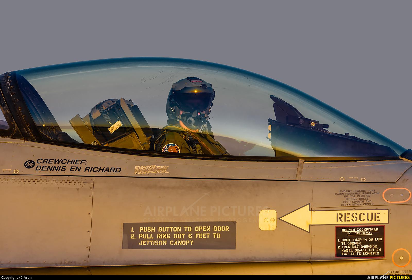 Netherlands - Air Force J-015 aircraft at Uden - Volkel
