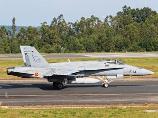 C.15-27 - Spain - Air Force McDonnell Douglas F/A-18A Hornet