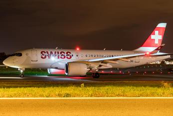 HB-JBG - Swiss Bombardier CS100