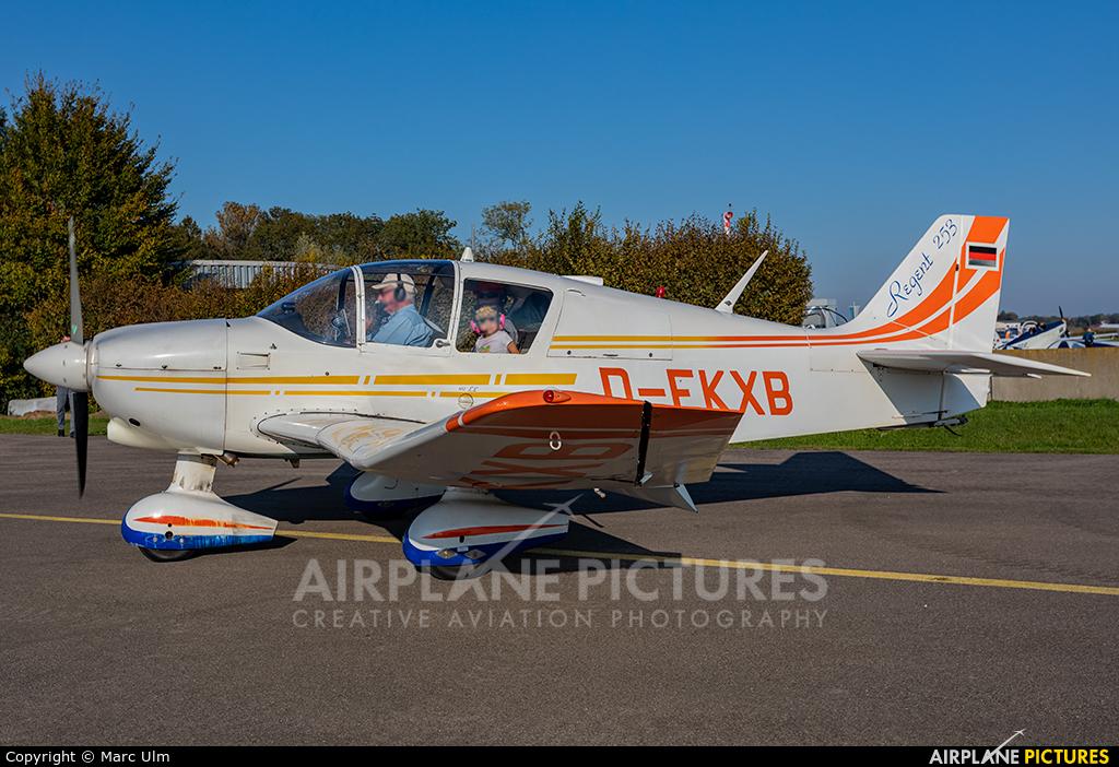 Private D-EKXB aircraft at Donauwörth - Genderkingen