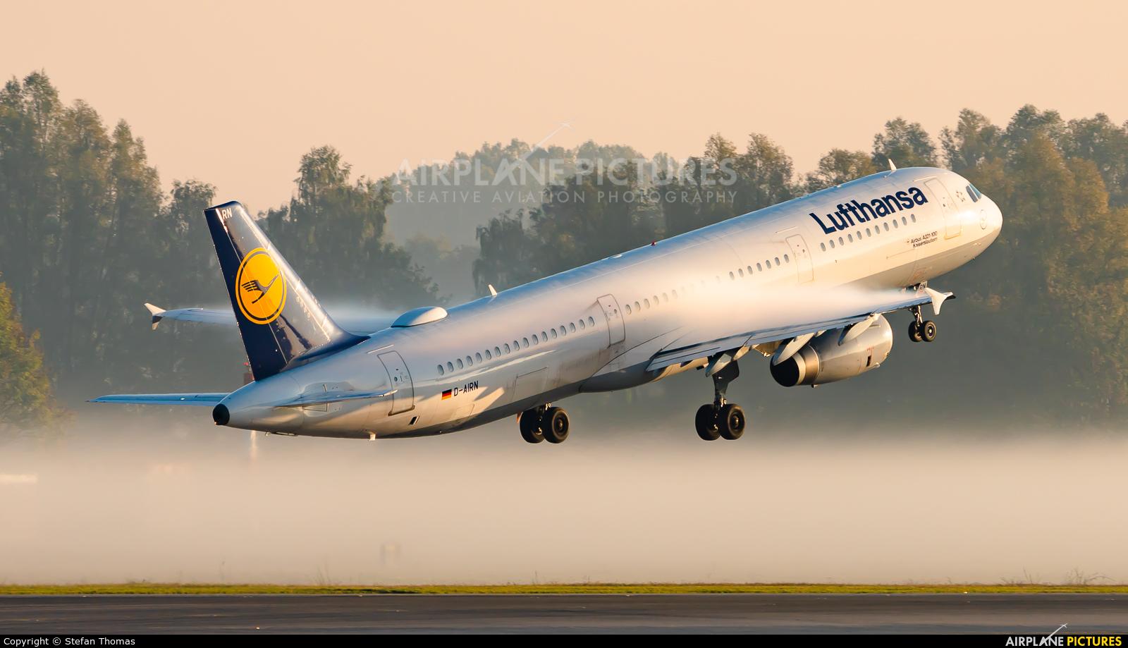 Lufthansa D-AIRN aircraft at Munich