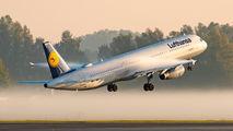 D-AIRN - Lufthansa Airbus A321 aircraft