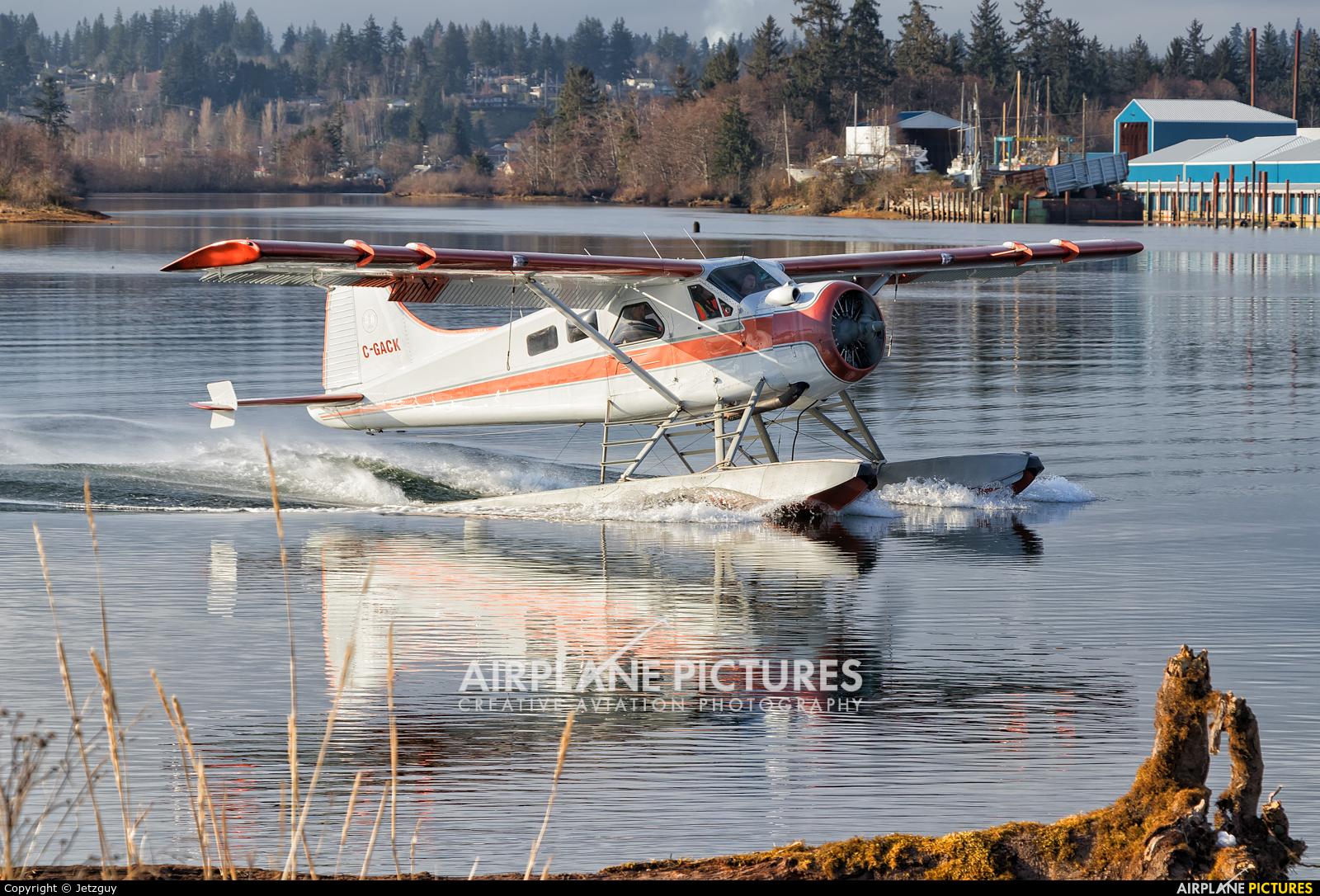Corilair C-GACK aircraft at Campbell River Seaplane Base