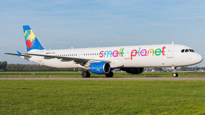 D-ASPD - Small Planet Airlines Airbus A321
