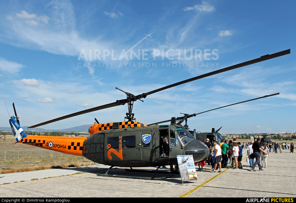 Greece - Hellenic Army ES658 aircraft at Tanagra