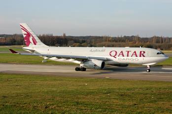 A7-AFZ - Qatar Airways Cargo Airbus A330-200F