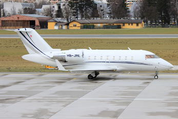HB-JRE - Execujet Europa AS Canadair CL-600 Challenger 605