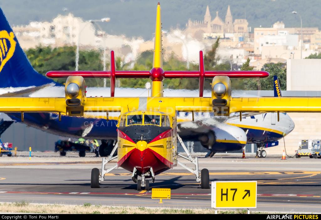 Spain - Air Force UD.14-04 aircraft at Palma de Mallorca