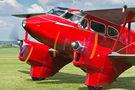 Private de Havilland DH. 90 Dragonfly G-AEDU at Compton Abbas airport