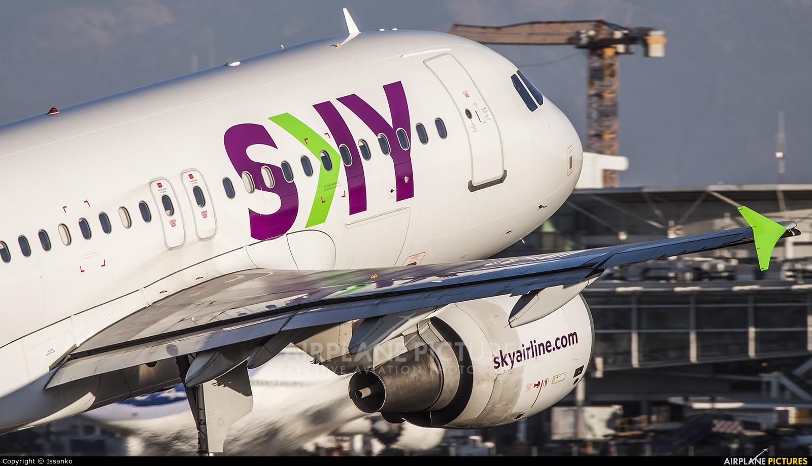 Sky Airlines (Chile) CC-AIY aircraft at Santiago de Chile - Arturo Merino Benítez Intl