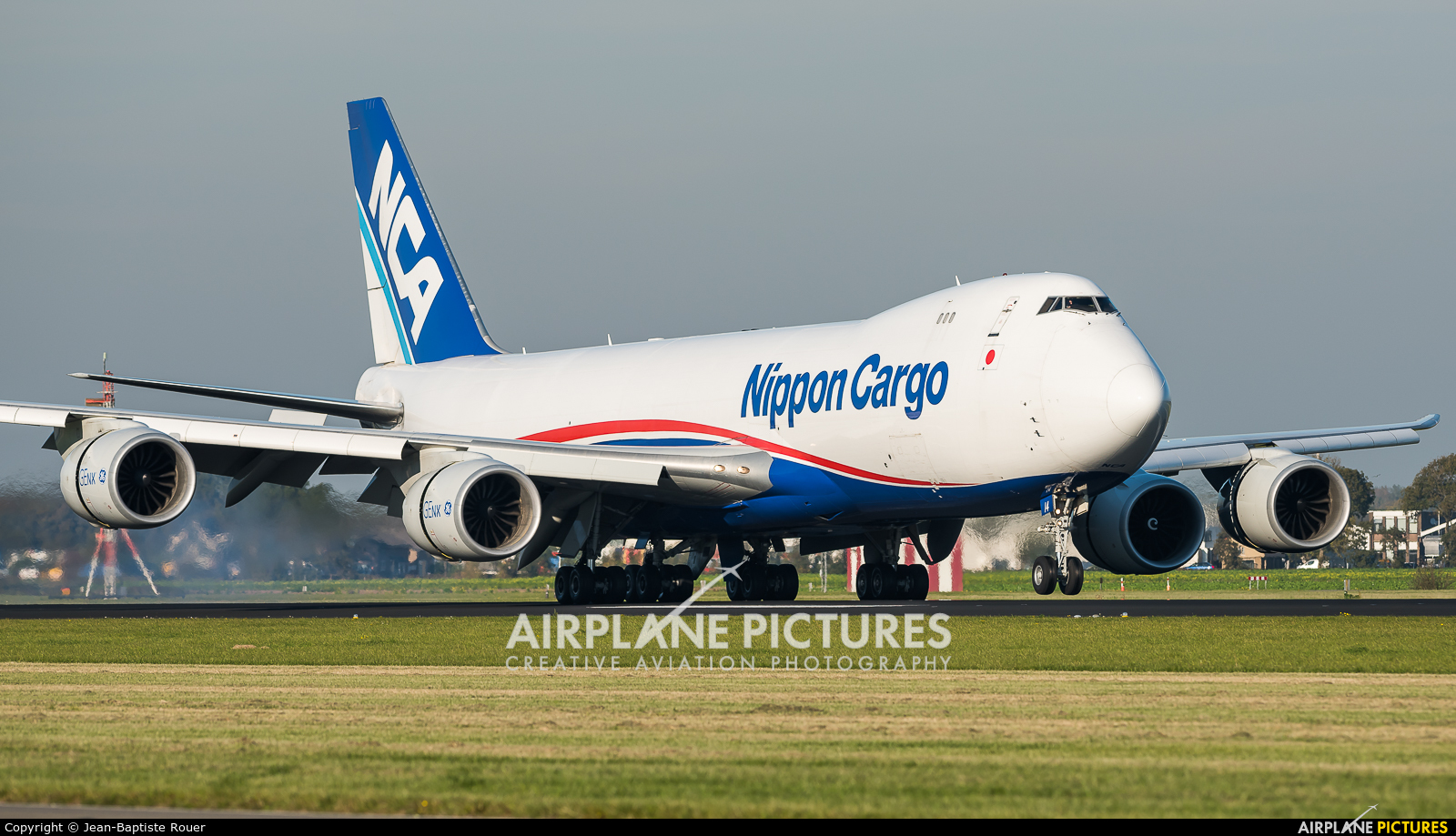 Nippon Cargo Airlines JA14KZ aircraft at Amsterdam - Schiphol