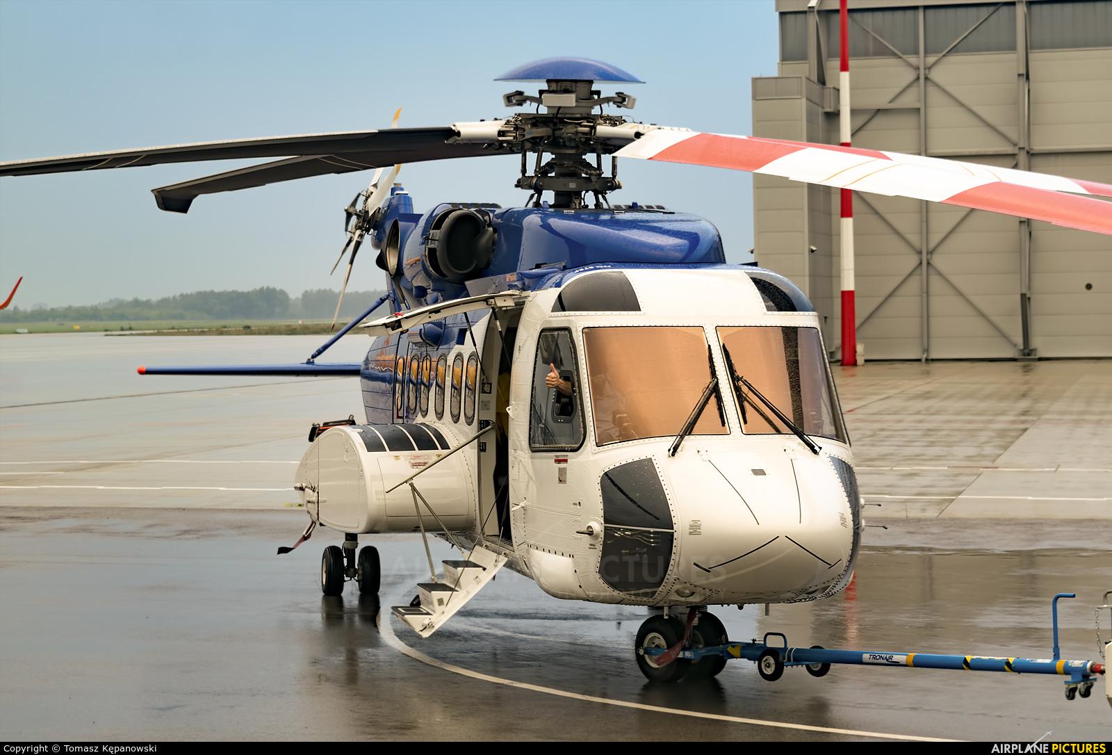 Bristow Helicopters G-CHKI aircraft at Rzeszów-Jasionka