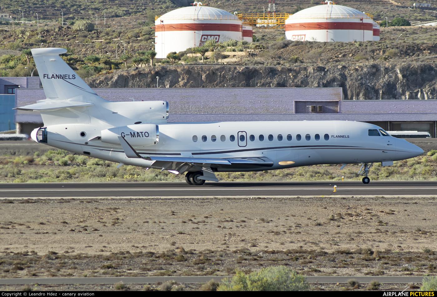 Air Charter Scotland G-MATO aircraft at Tenerife Sur - Reina Sofia