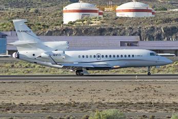 G-MATO - Air Charter Scotland Dassault Falcon 7X
