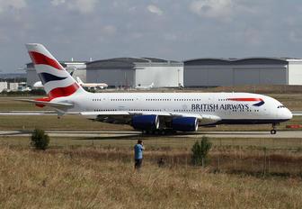 F-WWAY - British Airways Airbus A380