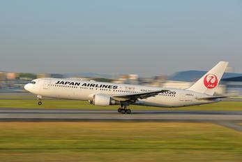 JA603J - JAL - Japan Airlines Boeing 767-300