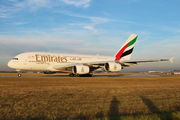A6-EUT - Emirates Airlines Airbus A380 aircraft