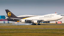 N577UP - UPS - United Parcel Service Boeing 747-400F, ERF aircraft
