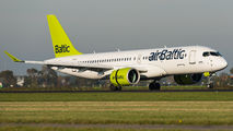 YL-CSJ - Air Baltic Airbus A220-300 aircraft