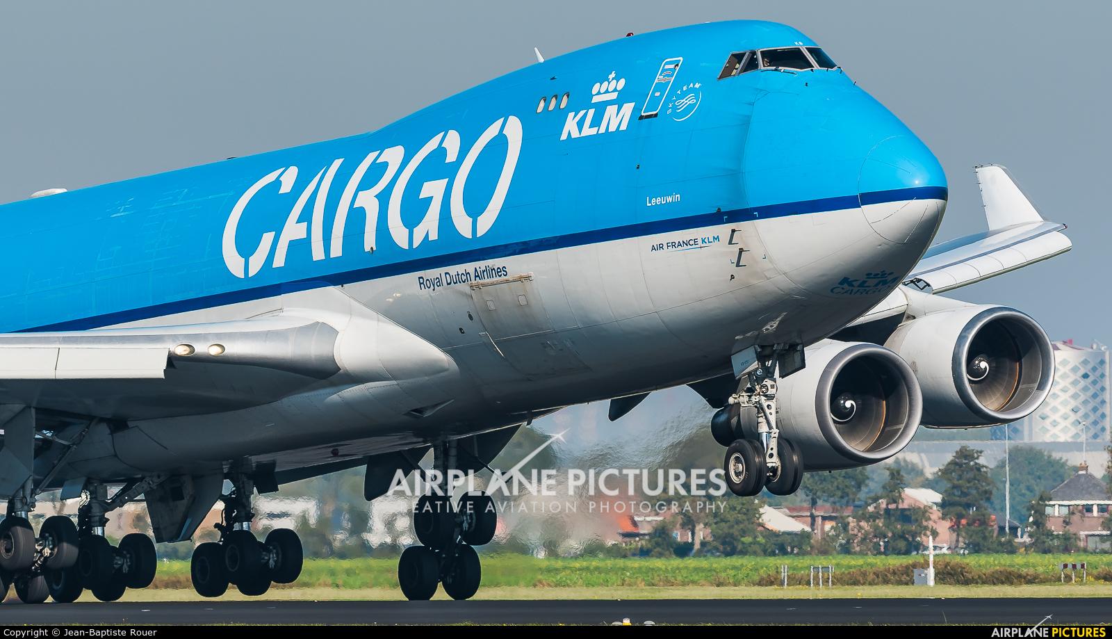 KLM Cargo PH-CKB aircraft at Amsterdam - Schiphol