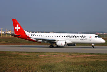 HB-JVO - Helvetic Airways Embraer ERJ-190 (190-100)