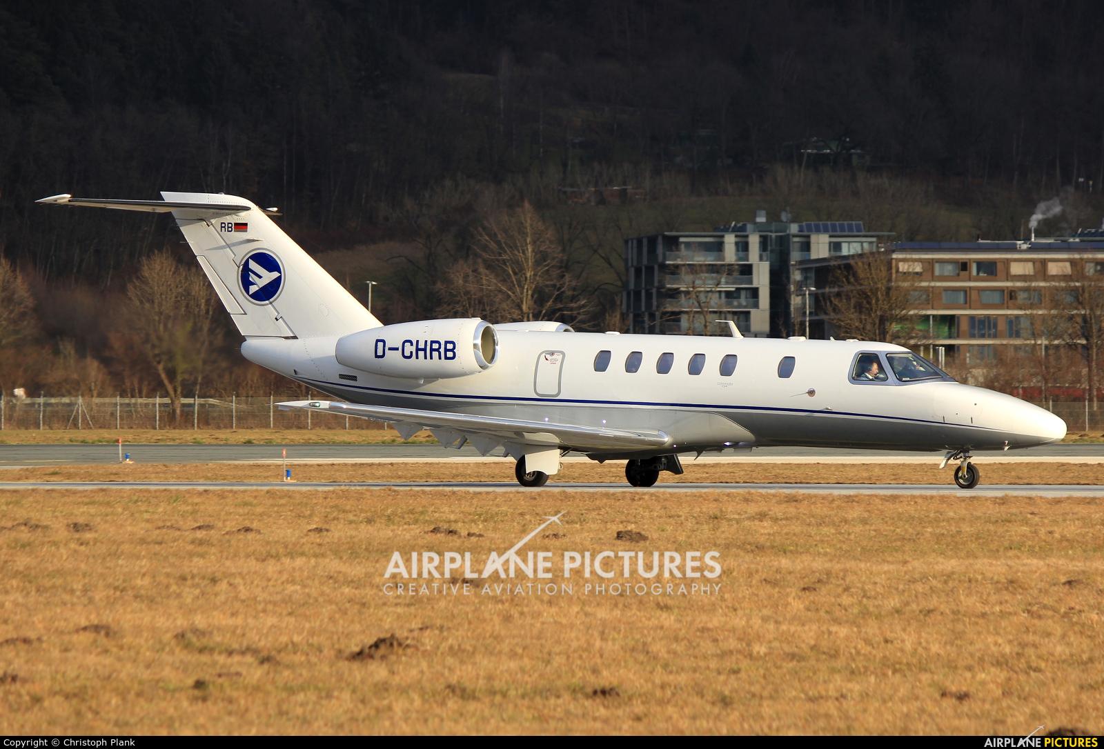 Hahn Air D-CHRB aircraft at Innsbruck