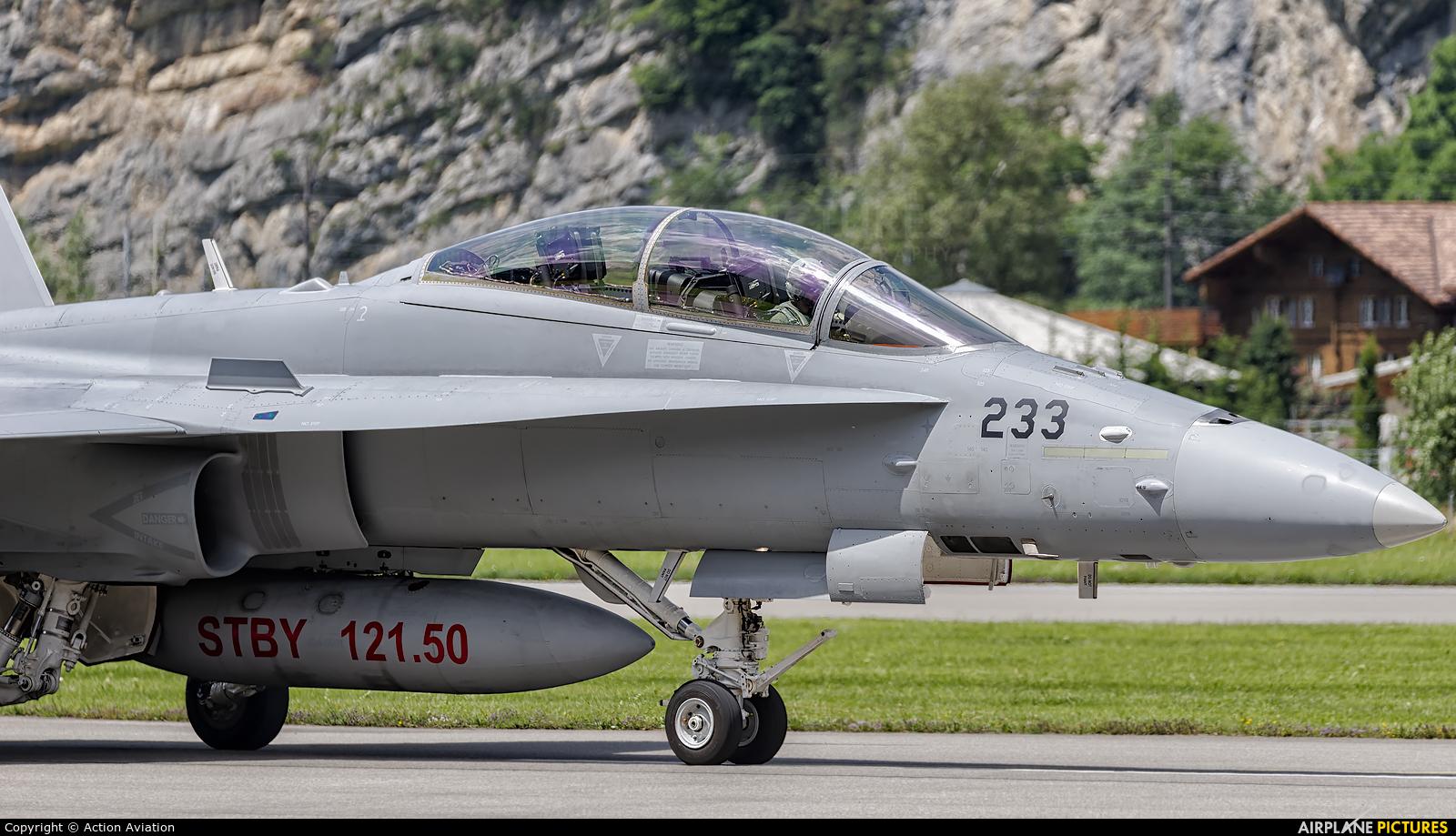 Switzerland - Air Force J-5233 aircraft at Meiringen