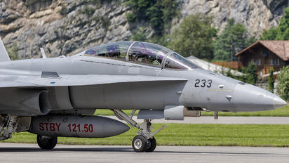 J-5233 - Switzerland - Air Force McDonnell Douglas F/A-18D Hornet