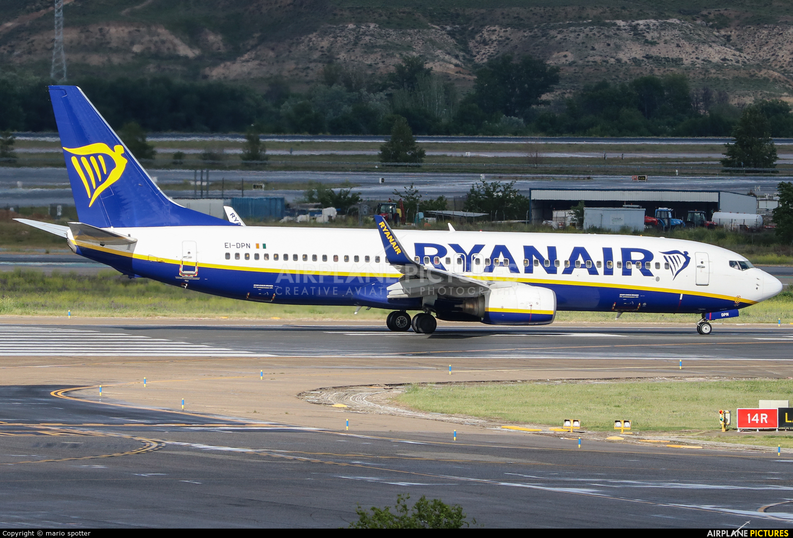 Ryanair EI-DPN aircraft at Madrid - Barajas