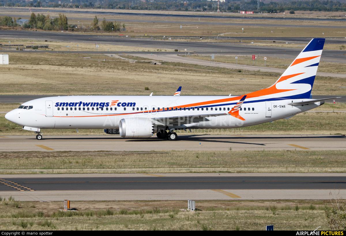 SmartWings OK-SWA aircraft at Madrid - Barajas