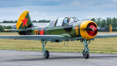 G-YAKX - Private Yakovlev Yak-52