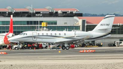 N237BG - Private Cessna 680 Sovereign