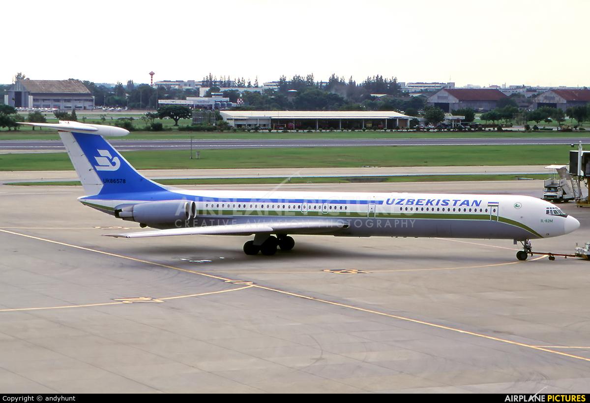 Uzbekistan Airways UK86578 aircraft at Bangkok - Don Muang