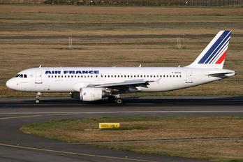 F-GKXD - Air France Airbus A320
