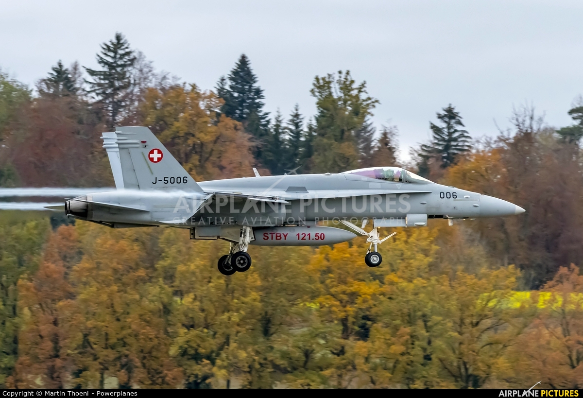 Switzerland - Air Force J-5006 aircraft at Payerne