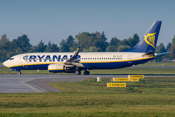 EI-FEI - Ryanair Boeing 737-800