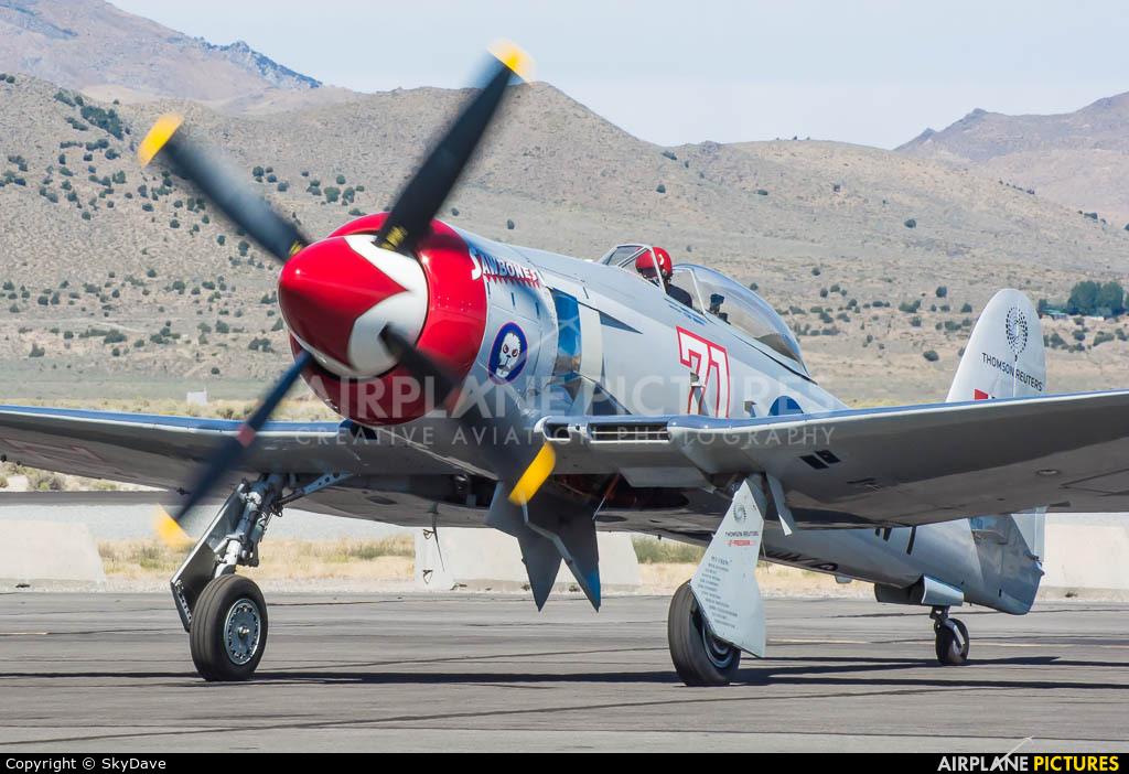 N71GB aircraft at Reno - Tahoe