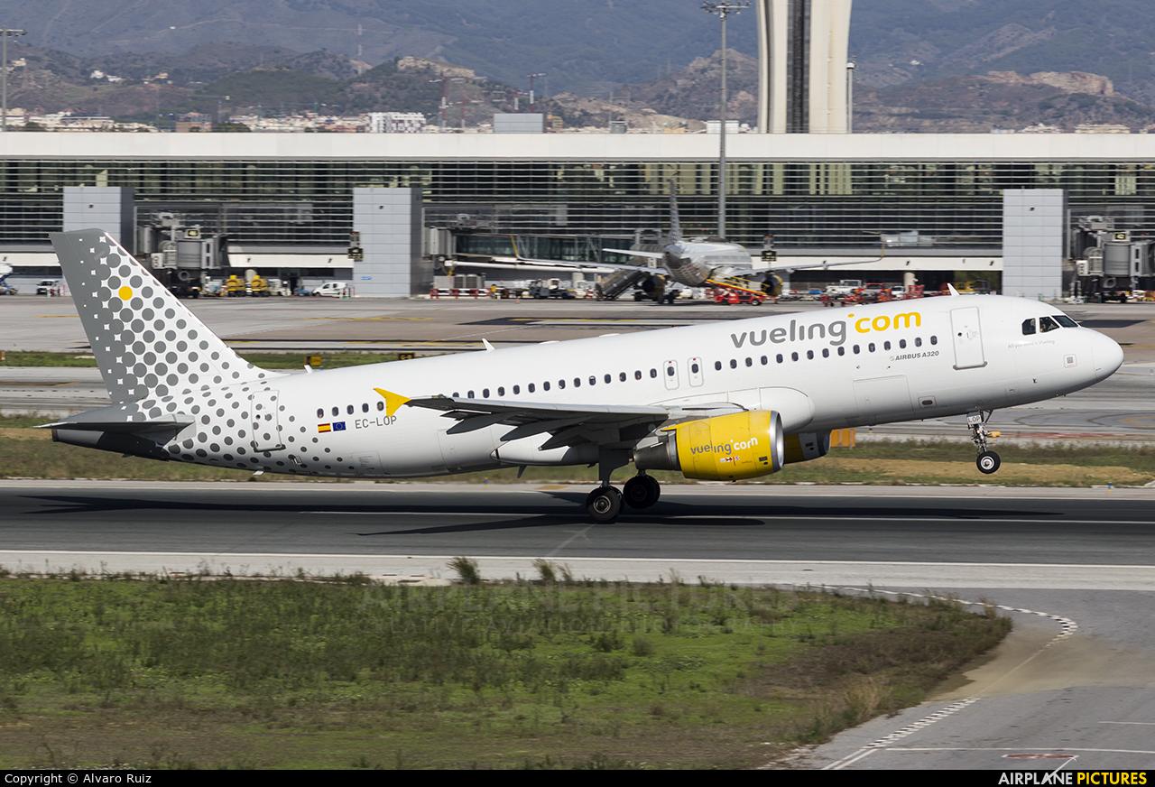 Vueling Airlines EC-LOP aircraft at Málaga