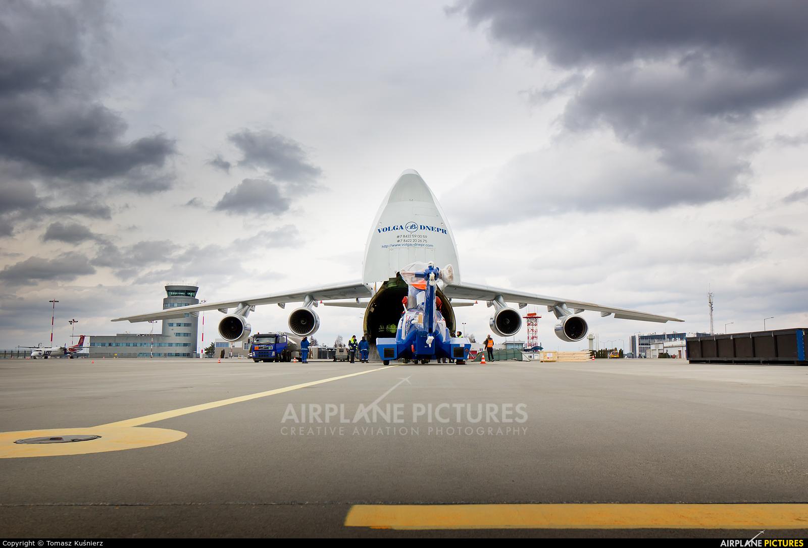 Volga Dnepr Airlines RA-82047 aircraft at Rzeszów-Jasionka