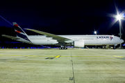 First Boeing 777 in LATAM Brasil livery title=