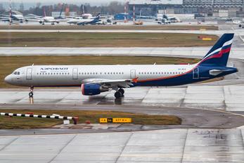 VQ-BEA - Aeroflot Airbus A321