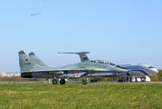 57 - Russia - Air Force Mikoyan-Gurevich MiG-29UB aircraft