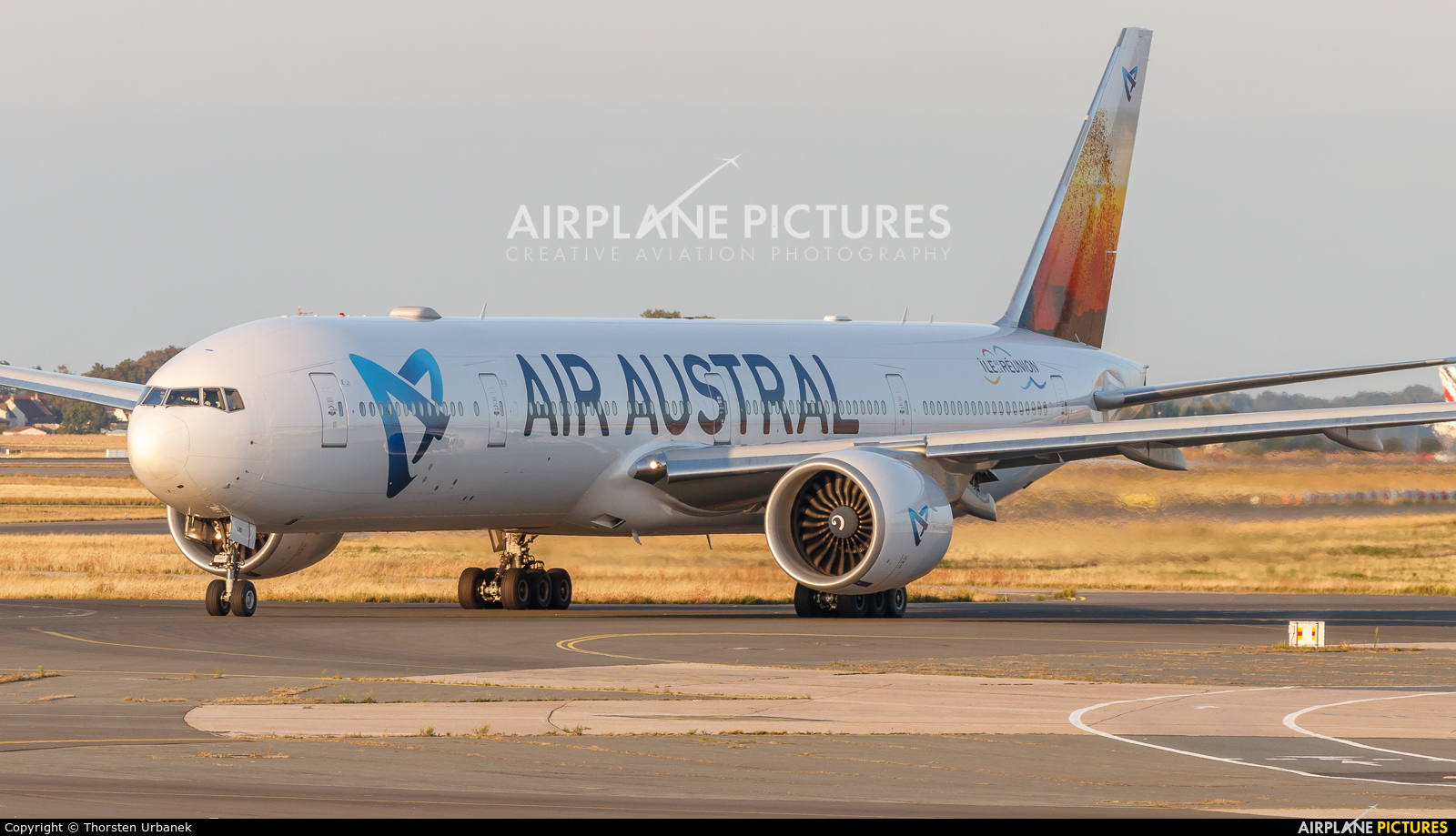 Air Austral F-OLRD aircraft at Paris - Charles de Gaulle