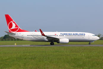 TC-JVU - Turkish Airlines Boeing 737-800