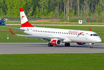 OE-LWC - Austrian Airlines/Arrows/Tyrolean Embraer ERJ-195 (190-200)
