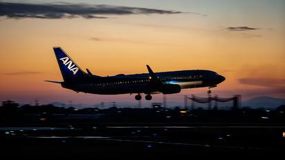 JA52AN - ANA - All Nippon Airways Boeing 737-800