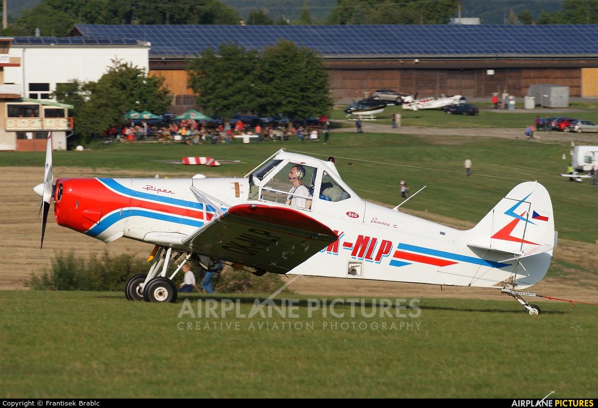 Aeroklub Brno Medlánky OK-MLP aircraft at Medlánky